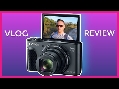 CANON Powershot SX730 HS | Vlog Review