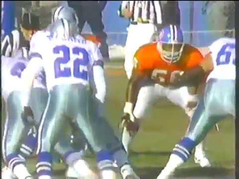 1992 Week 14  Dallas Cowboys at Denver Broncos