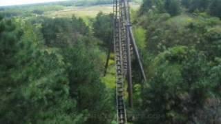 Dragon Mountain Front Seat on-ride POV Marineland Theme Park