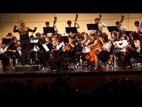 Intermediate Honor Orchestra__Garden Grove Unified School District California__March 1st 2018
