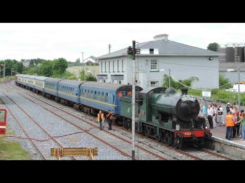 The Emerald Isle Explorer - Steam Train, Tipperary Town
