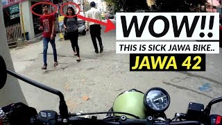 JAWA 42 - 2018 REVIEW || Is It Good On ROAD?? - B2W