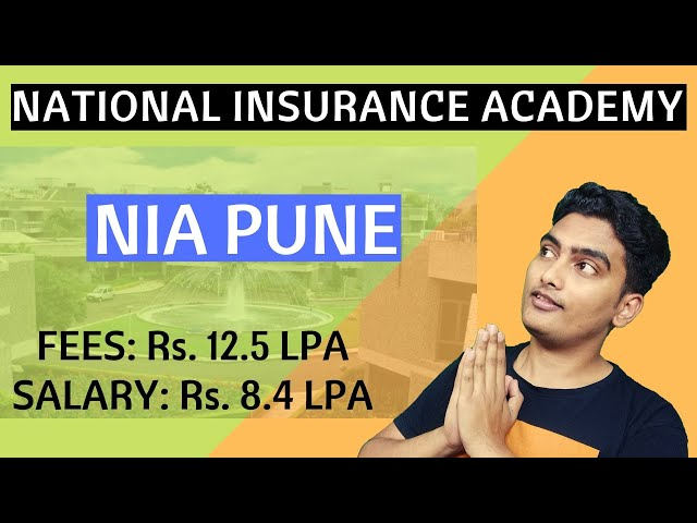All about NIA Pune - National Insurance Academy PGDM Program