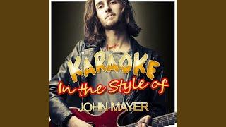 Split Screen Sadness (In the Style of John Mayer) (Karaoke Version)