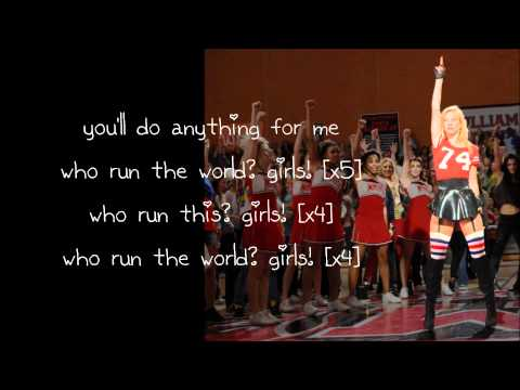 Glee - Run The World