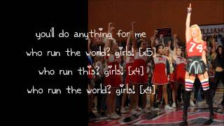 Baixar Glee - Run The World (Lyrics)