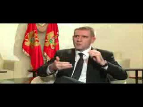 Premijer Igor Lukšić, intervju za TV VIjesti, 16. februar 2012. (cijeli snimak)