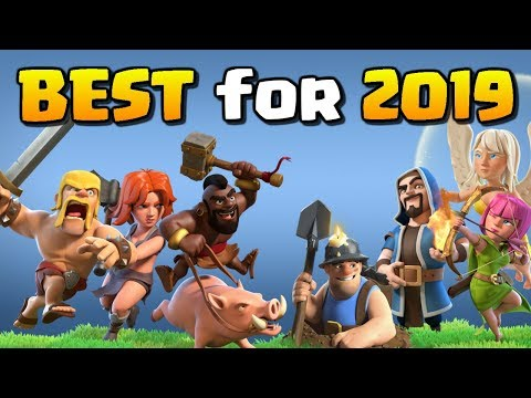 Top 5 Best Clash Of Clans Troops For 2019!