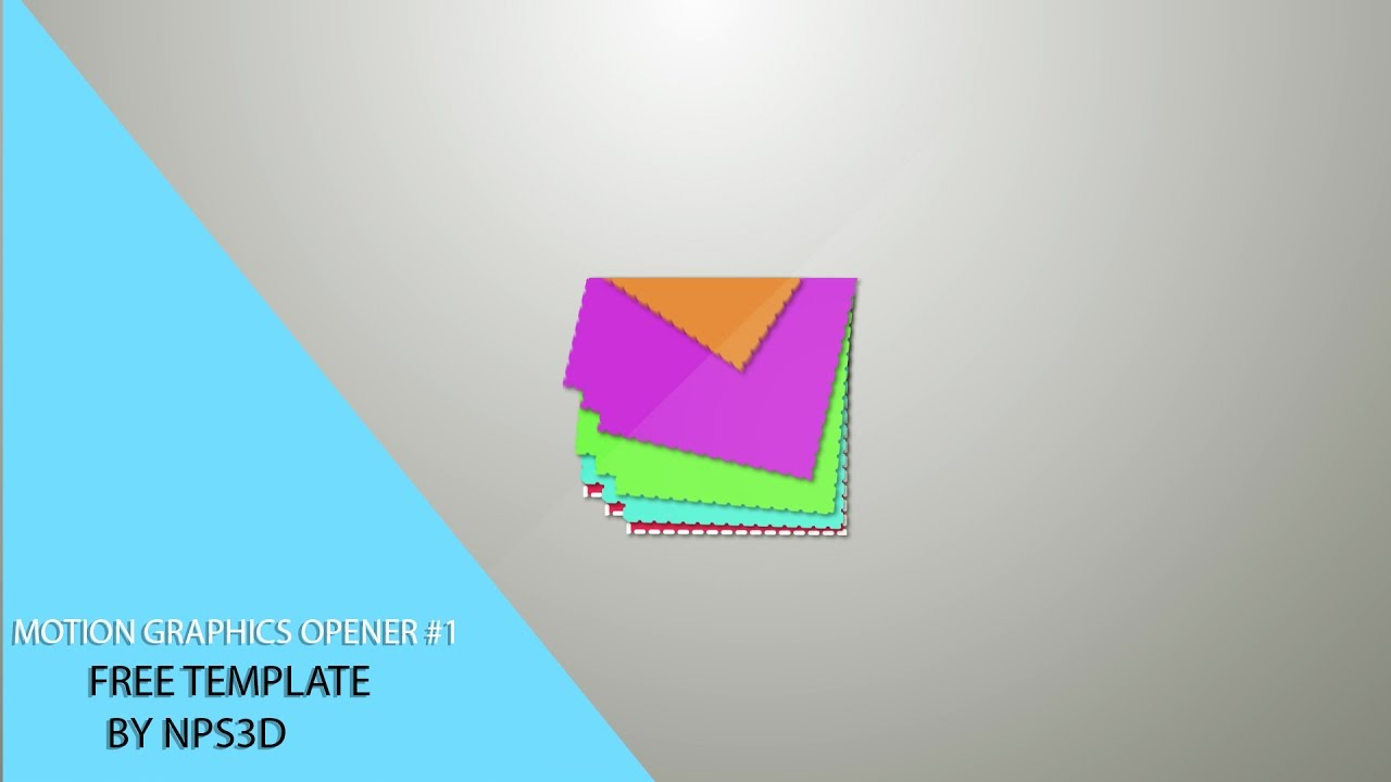 AFTER EFFECTS MOTION GRAPHICS OPENER #1 FREE TEMPLATE BY NPS3D ...