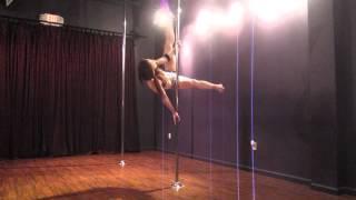 Intermediate pole combo tutorial (Jamilla, Butterfly, Poissant, Flatline) with Dakota Fox