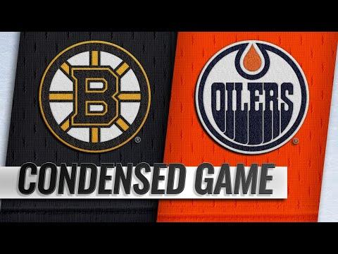 10/18/18 Condensed Game: Bruins @ Oilers
