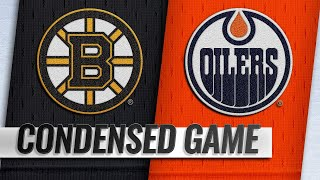 10/18/18 Condensed Game: Bruins @ Oilers