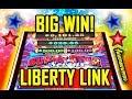 🌟BIG WIN!🌟 - LIBERTY LINK SLOT 🎰 - LIVE PLAY! - Slot Machine Bonus