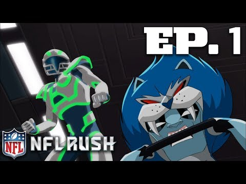 Ep. 1: Lions, Texans, & Turkeys, Oh My! (2012 - Full Show) | NFL Rush Zone: Season of the Guardians