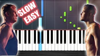 Imagine Dragons - Believer - SLOW EASY Piano Tutorial by PlutaX