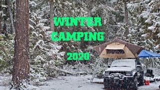 Solo Winter Camp