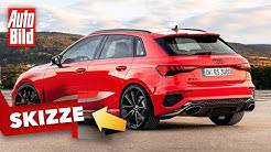 Audi RS 3 (2021): Skizze - Kompakt - Motor - Infos