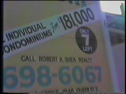 TORONTO - JANUARY 14, 1991 - A Winter Walk Along Queen Street East