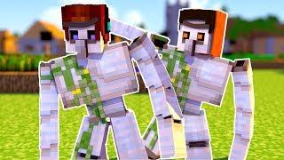 Vida de Mobs #05: COMO É A VIDA DE UM IRON GOLEM (Golem de Ferro) ?! - Minecraft