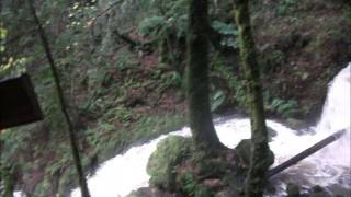 Cataract Falls in Marin County California just after rain