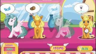 Мультик игра Сладкий уход за пони (Pony Sweet Day Care)
