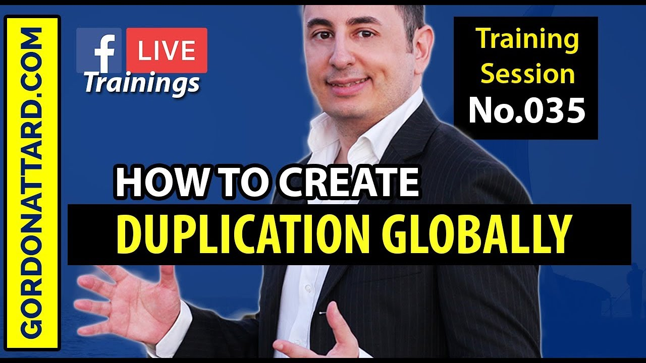 How To Create Duplication Globally In Your Business Without Stepping Foot In Those Countries!