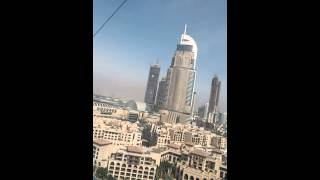 Ziplining over The Fountains in Dubai