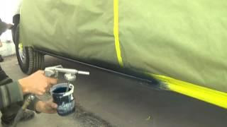 Покраска порогов на авто в Raptor UPOL