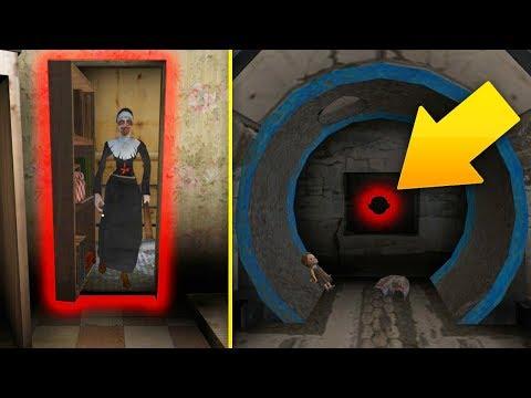 СЕКРЕТНЫЙ ПРОХОД С ПАСХАЛКОЙ В МОНАХИНЕ - The Nun   Монахиня   Evil Nun
