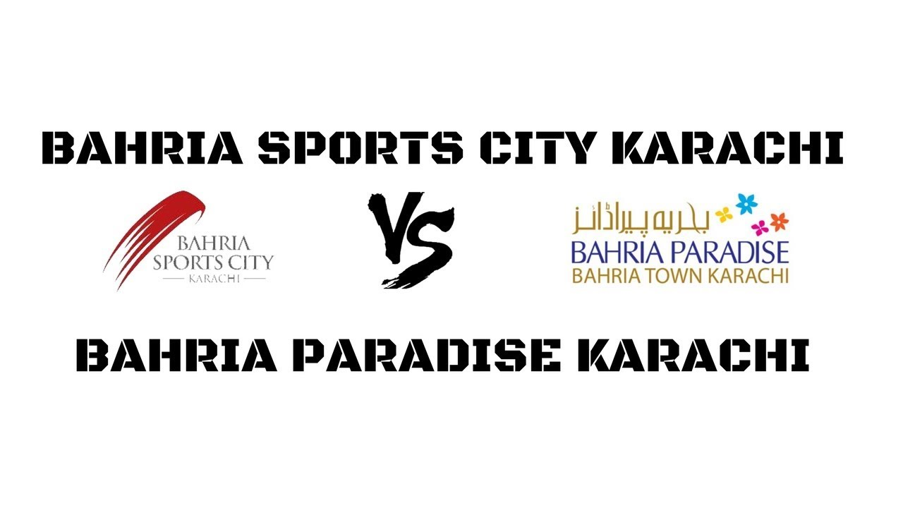 Bahria Sports City Vs Bahria Paradise Karachi Which is Best Investment in  Bahria Town Karachi by PMS