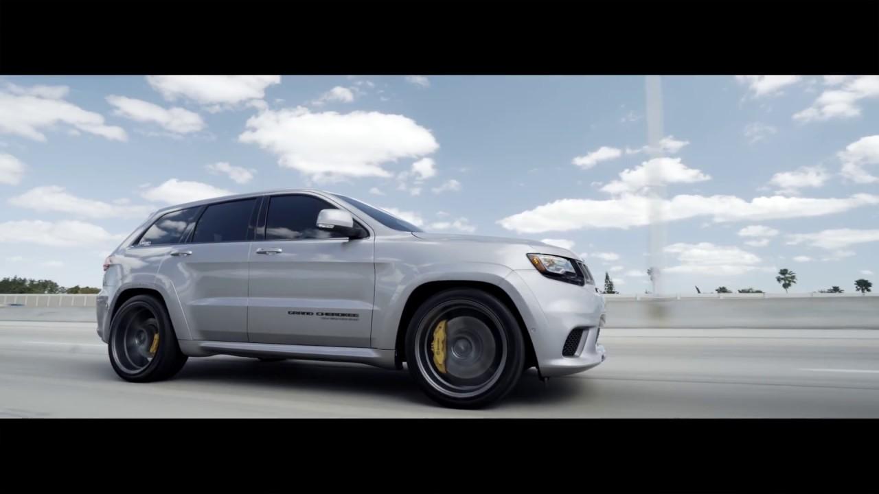 "2018 Jeep Grand Cherokee >> 2018 JEEP TRACKHAWK | VELGEN WHEELS CLASSIC5 | 22"" - YouTube"