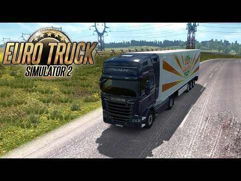 МОЙ ПЕРВЫЙ РЕЙС НА SCANIA в Euro Truck Simulator 2