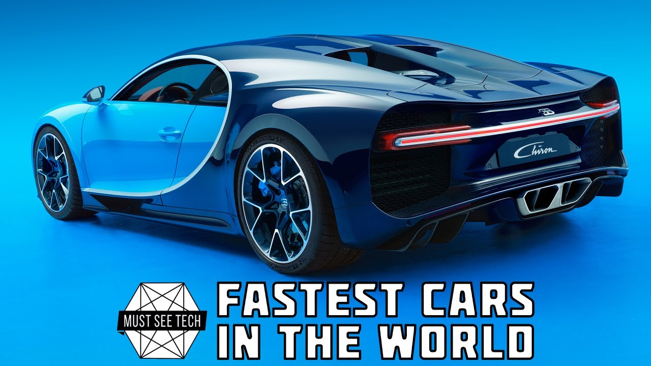 Top 10 Fastest Cars In The World 2017 / 2018 - YouTube