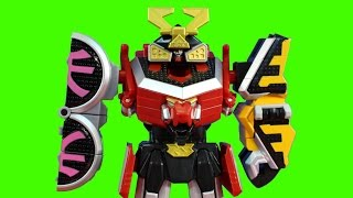 Power Rangers Samurai Megazord Protects Imaginext Toy Story Buzz Lightyear Star Command From Goldar