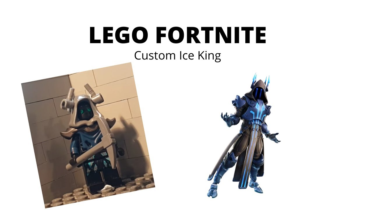 Custom Lego Fortnite Ice King