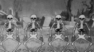 silly symphony - the skeleton dance von 1929 disney kurzen