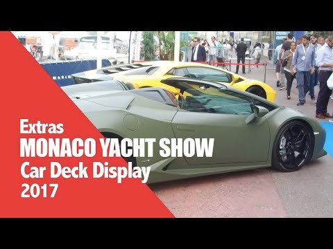 Monaco Yacht Show - Cars & Coffee - 2017