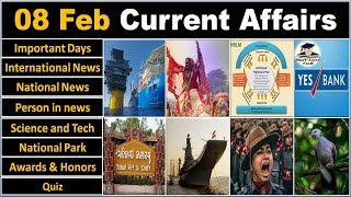 8 February 2019 PIB News, The Hindu, Indian Express - Current Affairs in Hindi, Nano Magazine - VeeR