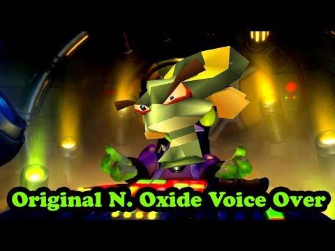 Crash Team Racing: Nitro-Fueled Intro - Original N. Oxide Voice Over Edit