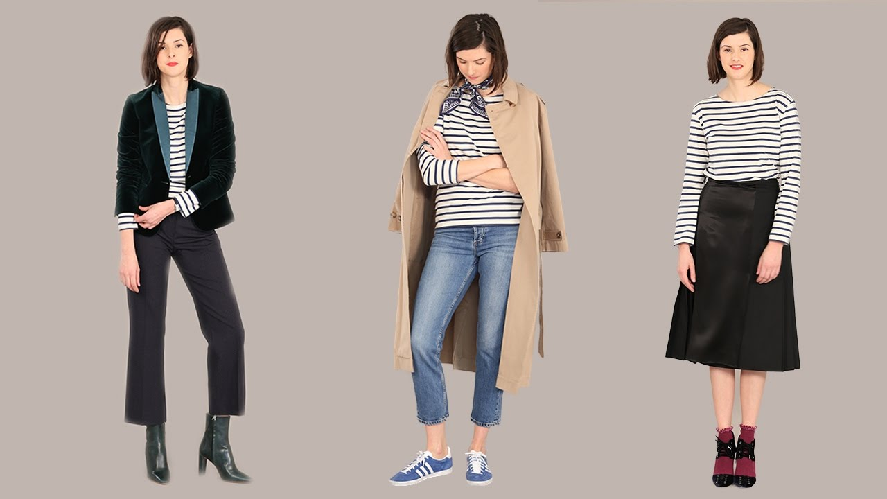 d5df11ca74 How to style a Breton top in three ways | How to wear a classic ...