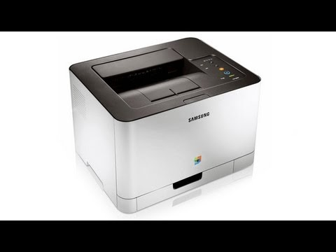 samsung clp 365w color laser printer product review youtube. Black Bedroom Furniture Sets. Home Design Ideas