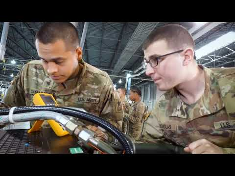 MOS 91J Quartermaster And Chemical Equipment Repairer