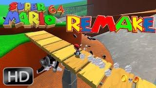 Super Mario 64 Remake Full HD [ Motor Unity ] - Gameplay en Español por Zeta