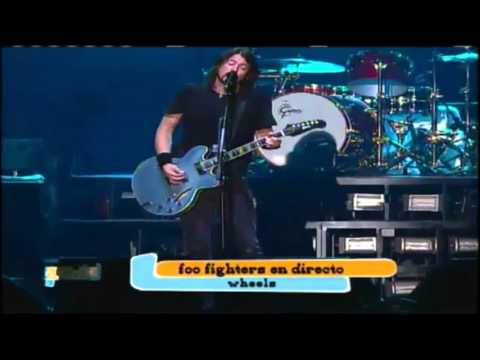Foo Fighters - Wheels  (Live in Lollapalooza Chile 2012)