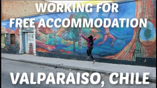 WORKING IN VALPARAISO, CHILE