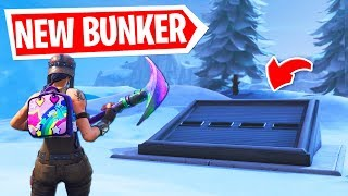 I OPENED the SECRET ICE BUNKER In Fortnite Season 7 and FOUND...
