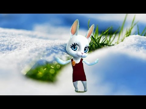 Zoobe Зайка Тает, тает белый снег  :-) - Как поздравить с Днем Рождения