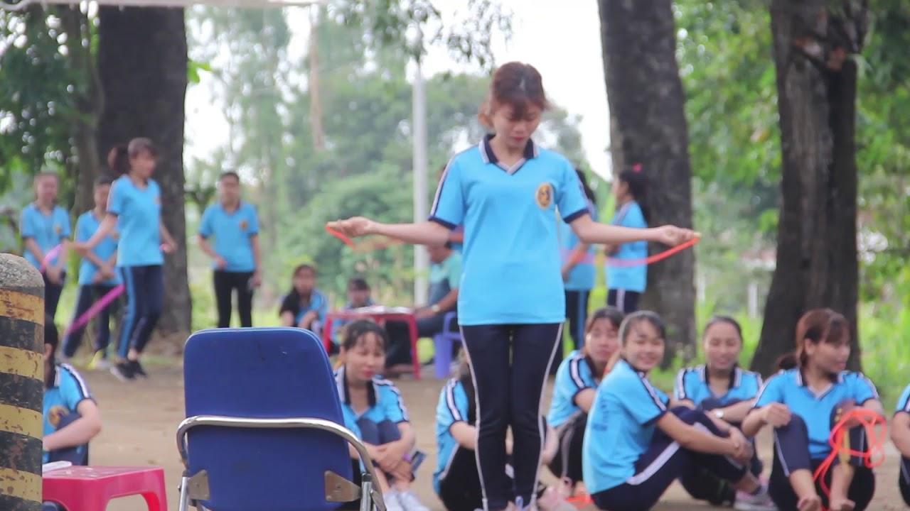 Thi môn Thể dục học phần nhảy dây | Các môn học ở trường Giao thông | 2019.01.03.(21)