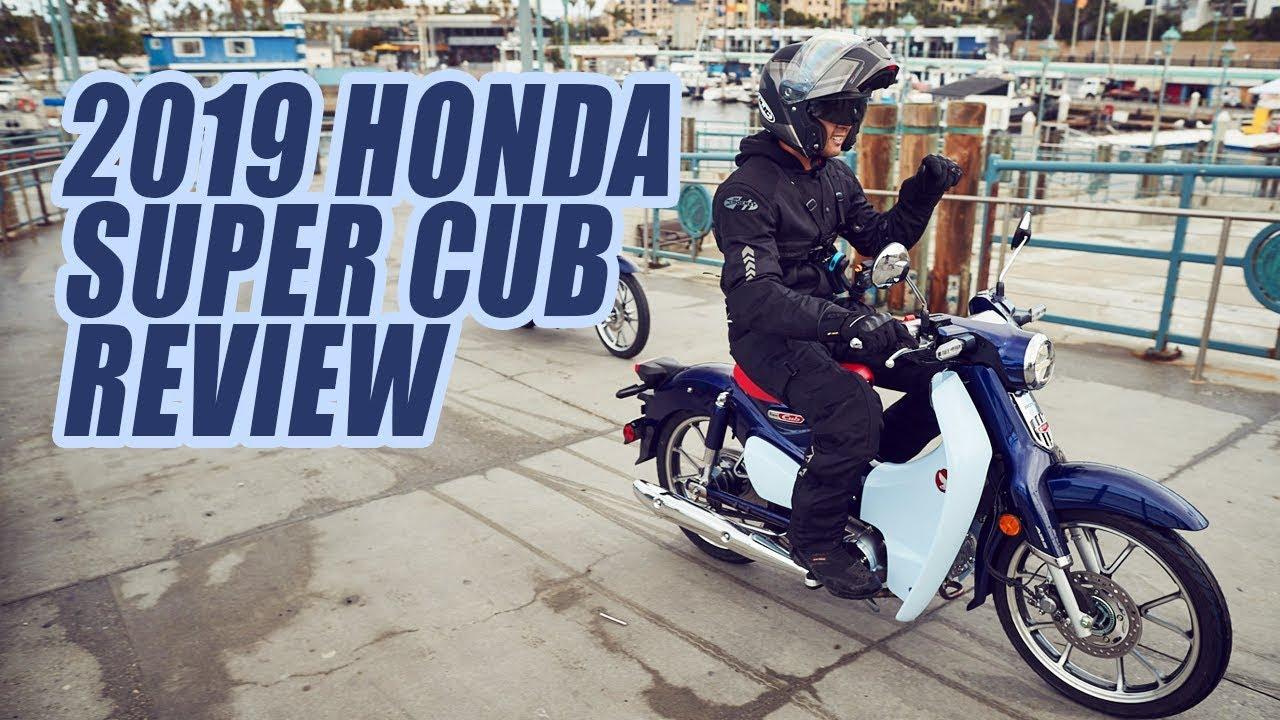 2019 Honda Super Cub Video Review