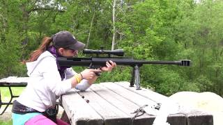 What is a 50 caliber Barrett? EPIC FUN!   FateofDestinee
